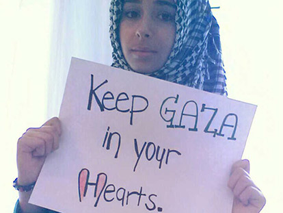 Poet Farah Qadan wants you to see the human face of Gaza