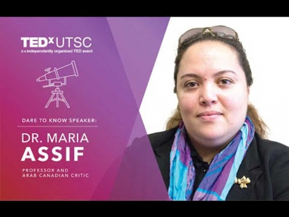 Maria Assif on Arabs, Muslims, and Stereotypes at TEDxUTSC 2016