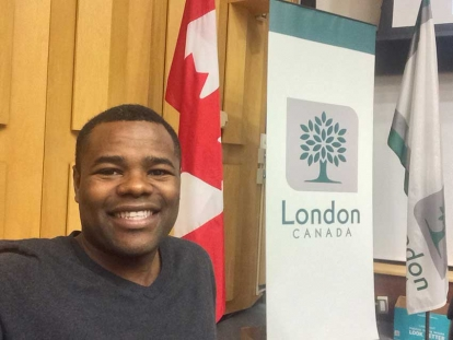 Sudanese Canadian Mohamed Salih was recently named Best Local Politician by The London Free Press's Best of London 2018 survey.
