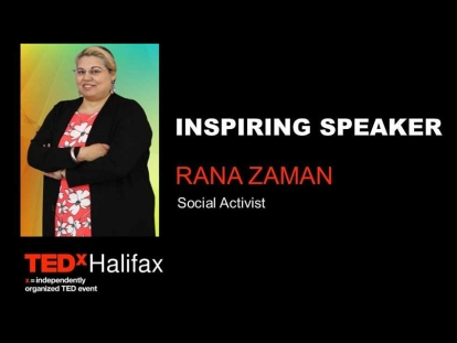 Rana Zaman on the United Nations at TEDxHalifax 2019