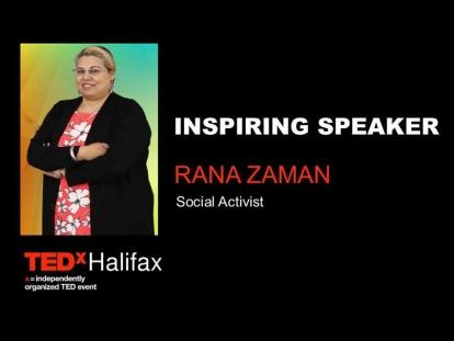 Rana Zaman on the United Nations at TEDxHalifax 2019