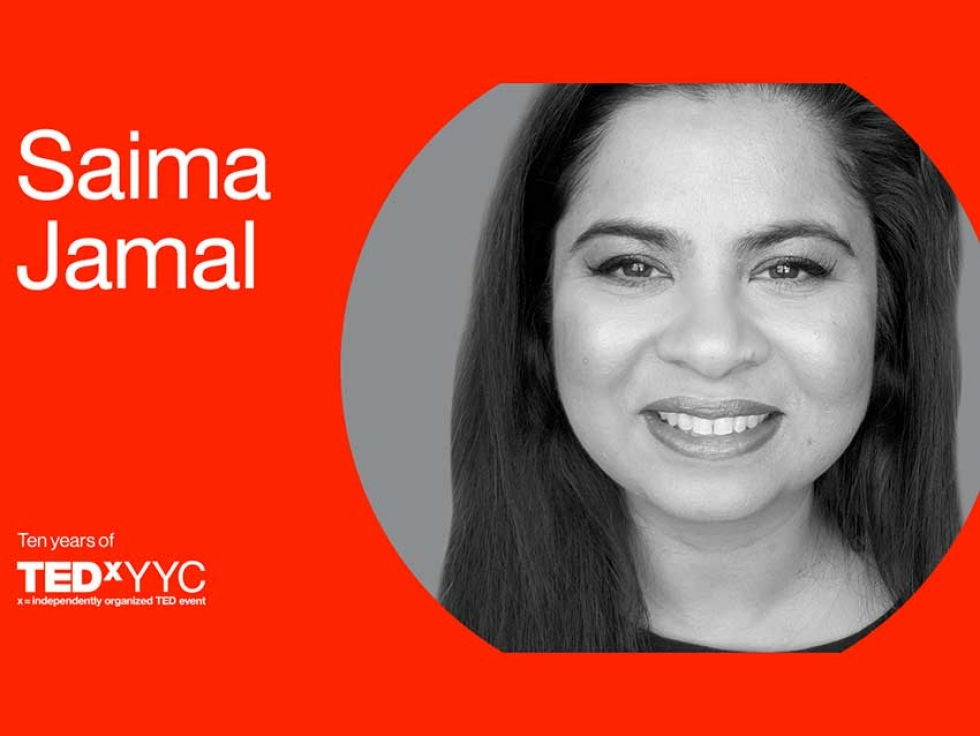 Saima Jamal on Supporting Newcomers at TEDxYYC 2019