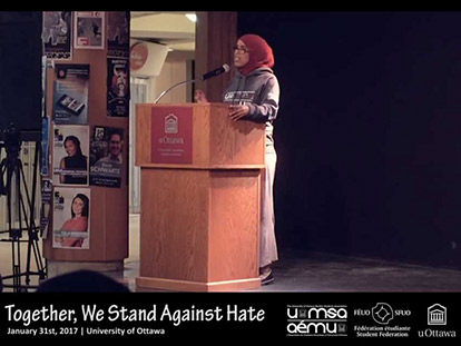 Somali Canadian Filsan Nour, the UOMSA Events Officer, shared her thoughts on recent events.