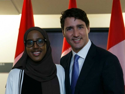 Somali Canadian Habon Ali has recently been appointed to the Prime Minister's Youth Advisory Council.