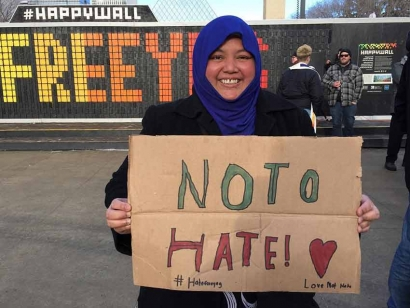 Originally from Singapore, Wati Rahmat volunteers with various social justice initiatives in Edmonton, Alberta.