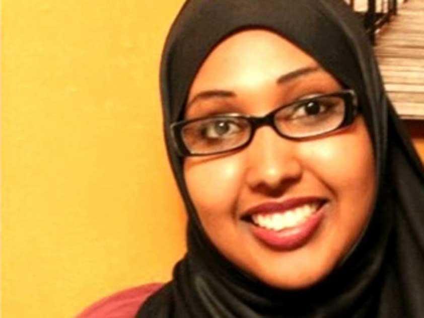 Somali Canadian law student Faiza Hassan
