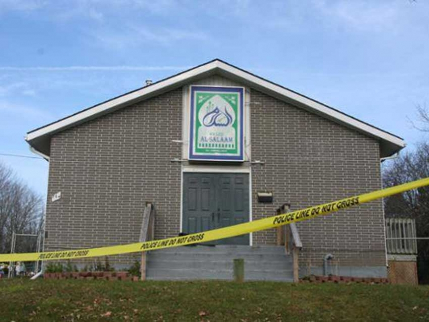 The only mosque in Peterborough, Ontario