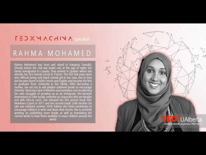 Rahma Mohamed on the Challenges Faced by Minorities at TEDxUAlberta 2019