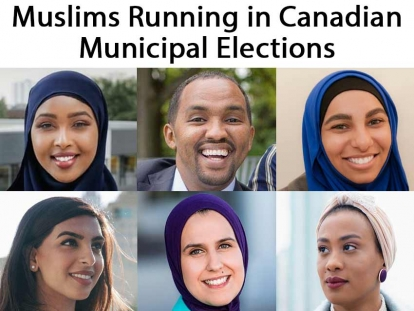 Muslims Running in Canadian Municipal Elections