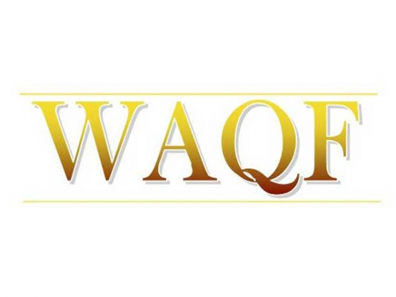 Waqf is a religious endowment in Islamic law. A donor designates something to be used solely for the benefit of the poor and needy.