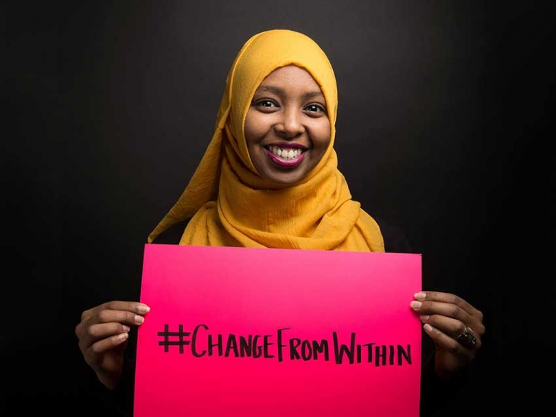 "Samiya Ahmed hopes you are willing to ""change from within"" in order to address anti-Black racism in Canadian Muslim communities."