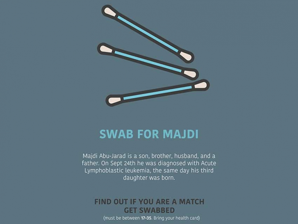 Can You Help Save an Ottawa Father's Life? Swab for Majdi with Canadian Blood Services
