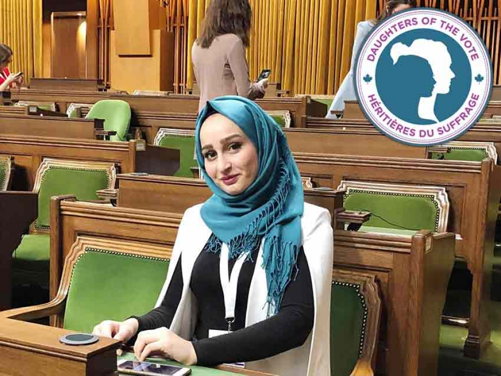 Muslimahs on Parliament Hill: Hanen Nanaa from Scarborough-Guildwood, Ontario