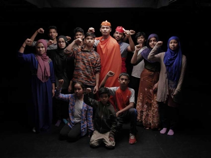 """I Am Rohingya"" chronicles the making of the play ""I Am Rohingya"" by a group of Rohingya refugee youth living in Kitchener-Waterloo, Ontario."