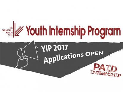 The Canadian Muslim Vote Is Hiring Paid Summer Youth Interns