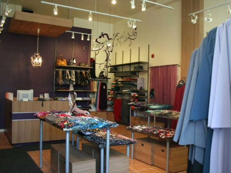 Inside N-Ti Boutique's Montreal store.