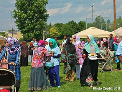 Sadaqa Food Bank Festival 2013