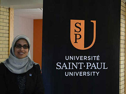 Dr. Aliaa Dakroury appointed to senate of Saint Paul University