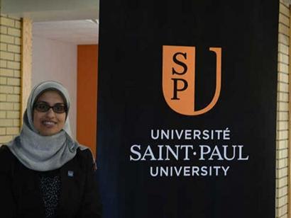 Dr. Aliaa Dakroury appointed to senate of Saint Paul University