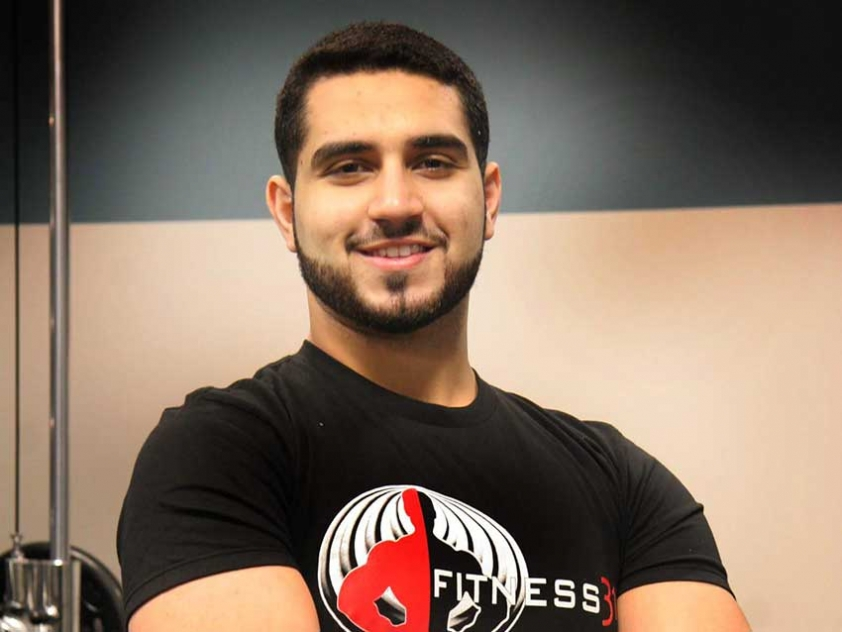 Coach Hadi is a personal trainer and the owner of Fitness 313 in Toronto.