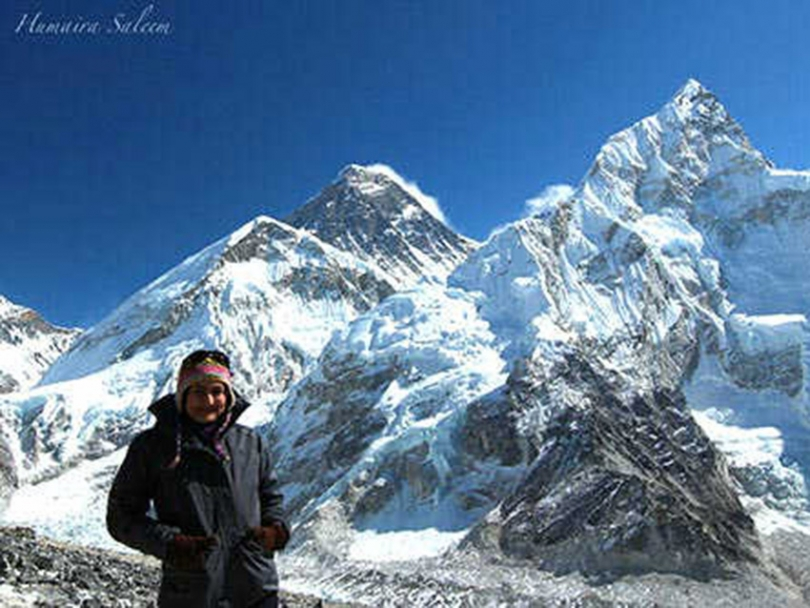 Humaira Saleem climbs Everest for Islamic Relief Canada