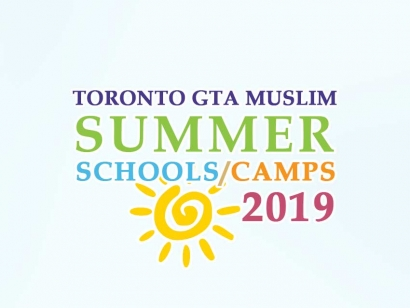 Toronto GTA Muslim Summer Camps 2019
