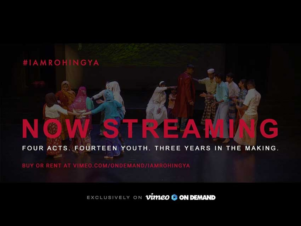 I Am Rohingya is now available on Video on Demand