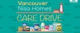 Donate to the Vancouver Nisa Homes Care Drive (Cleaning Supplies, Household Essentials, Food)