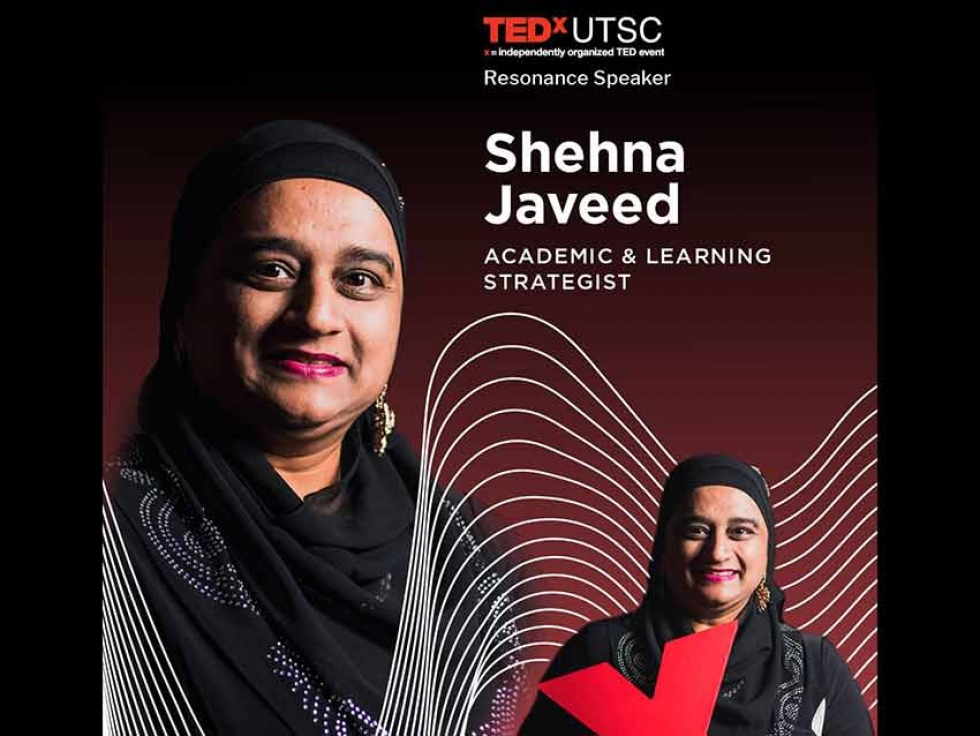 Shehna Javeed on the Challenges Newcomer Students Face in Academia at TEDxUTSC 2019