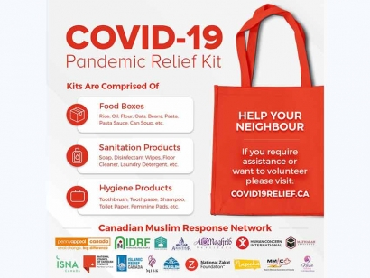 Canadian Muslim Charities and Organizations Unite to Support Vulnerable Canadians Impacted by the COVID-19 Crisis