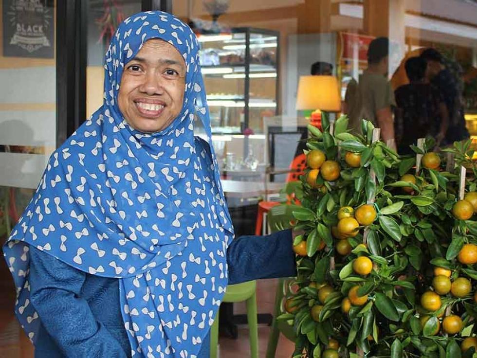 Malaysian Canadian Sabariah Binti Hussein's charity work made headlines in Canada and Malaysia in 2017.
