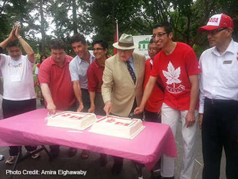 MCCNCR Canada Day Celebration takes the cake