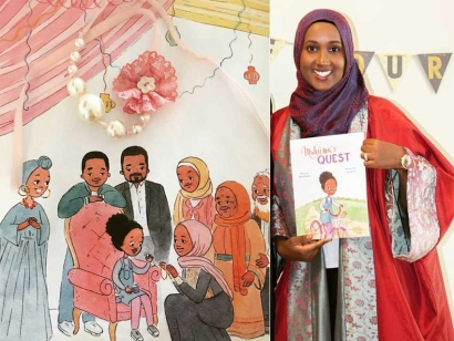 Somali Canadian Author Makes Headlines With Children's Book That Portrays A Black Muslim Family