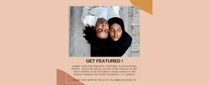 Muslim Women Creatives Share Your Creative Work at Muse Avenue's Toronto Event Her Canvas