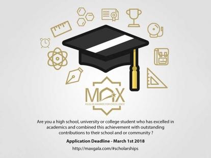 MAX Gala 2018 Scholarships