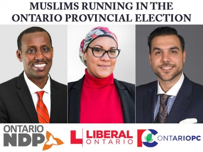 Muslim Canadians Running in the 2018 Ontario Provincial Election