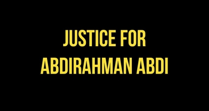 Justice for Abdirahman Coalition and Its Partners Call for the Resignation and Termination of Ottawa Police Association's Matt Skof for Alleged Misogynistic Comments to a Female Member of the Coalition