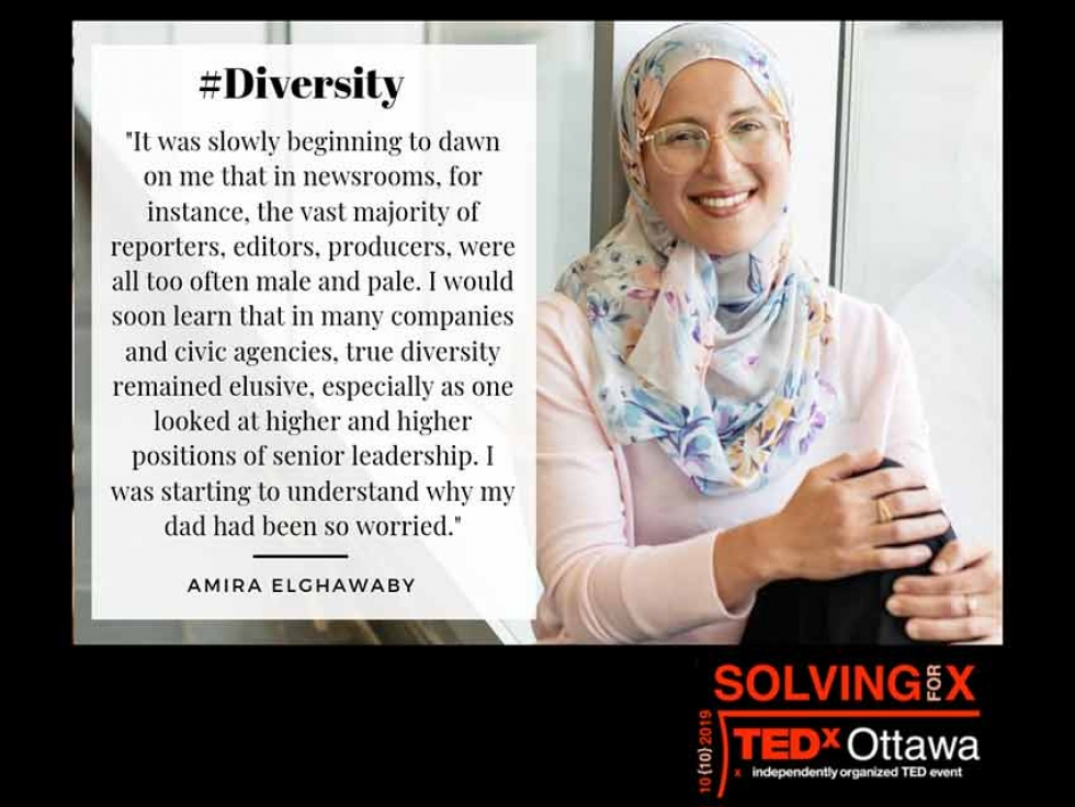Amira Elghawaby on Multiculturalism in Canada at TEDxOttawa 2019