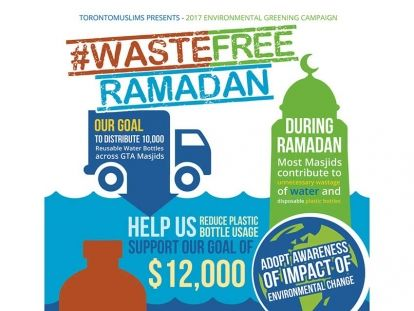 TorontoMuslims distributes 10,000 Reusable Bottles during Ramadan