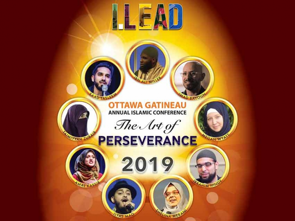 Join us at the Capital Region's largest Muslim community conference, I.LEAD 2019 will take place on Saturday, March 16 at the EY Centre
