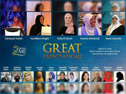 Being ME Toronto Aims To Bring Together Muslim Women from Across Ontario This Saturday