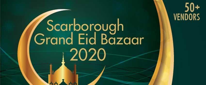 Become a Vendor at the Scarborough Eid Bazaar 2020