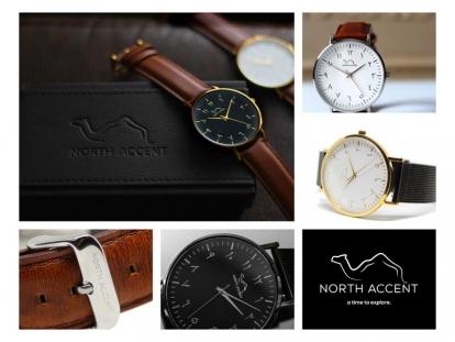 North Accent Finds Balance in Faith, Culture, and Style with Unique Watches