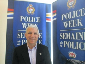 Palestinian Canadian Hamid Mousa is the Community Development Coordinator for the Ottawa Police Service.