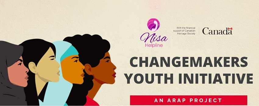 Calling on Young Muslim Women: Complete the Nisa Helpline Changemakers Youth Initiative Survey