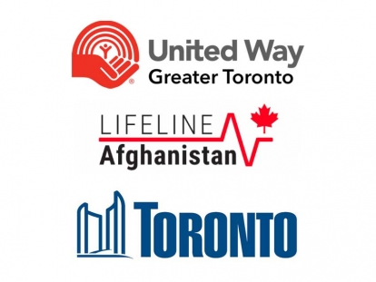 City of Toronto partners with United Way Greater Toronto and Lifeline Afghanistan to launch the Toronto Region Afghan Resettlement Fund