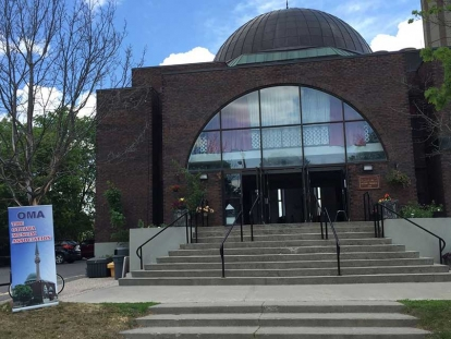 The Ottawa Muslim Association (OMA) received $46,000 by applying to the federal government's SIP program to enhance the security of its property