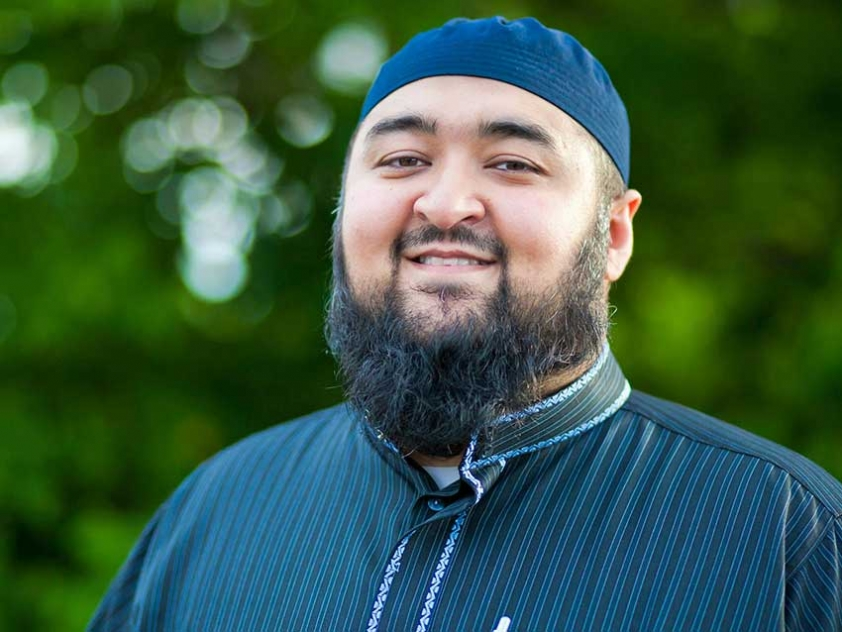 Navaid Aziz was born and raised in Montreal and now serves as an imam in Calgary