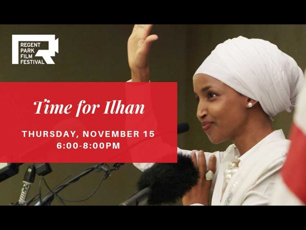 """The documentary """"Time for Ilhan"""" follows Somali American Ilhan Omar's campaign during the 2016 US election."""