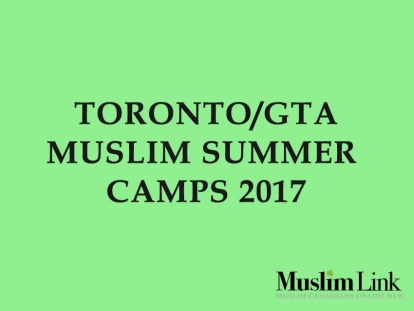 Muslim Summers Camps in Toronto & the GTA.
